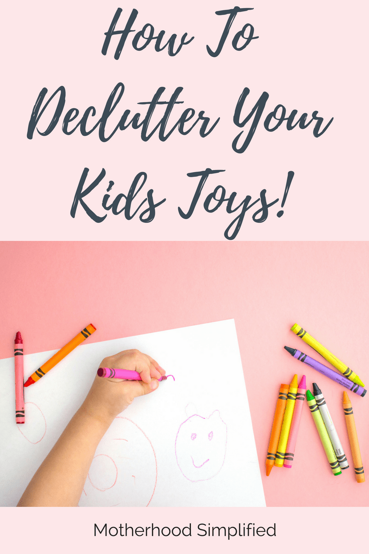kid-drawing-declutter-your-home-with-kids-teachworkoutlove.com