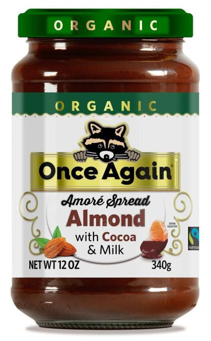 Once Again Amoré Organic Almond Spread