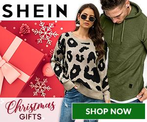 Shop SHEIN for Christmas Gifts and Apparel