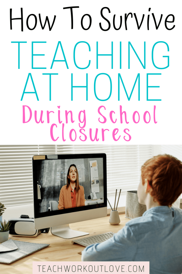 Struggling to teach at home right now? We are here to provide you with some great tips and resources for surviving teaching at home during school closures.