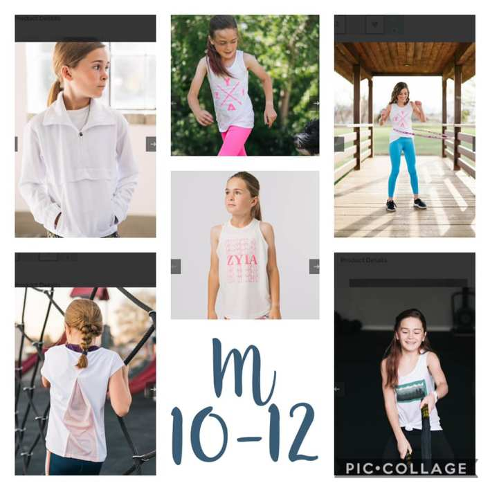 Medium 10-12 Kid's Activewear