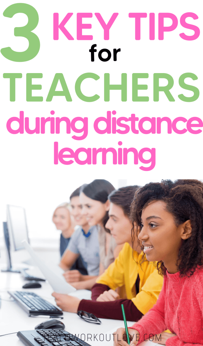 Struggling with how to teach distance learning? We have some key teacher tips for distance learning this year.