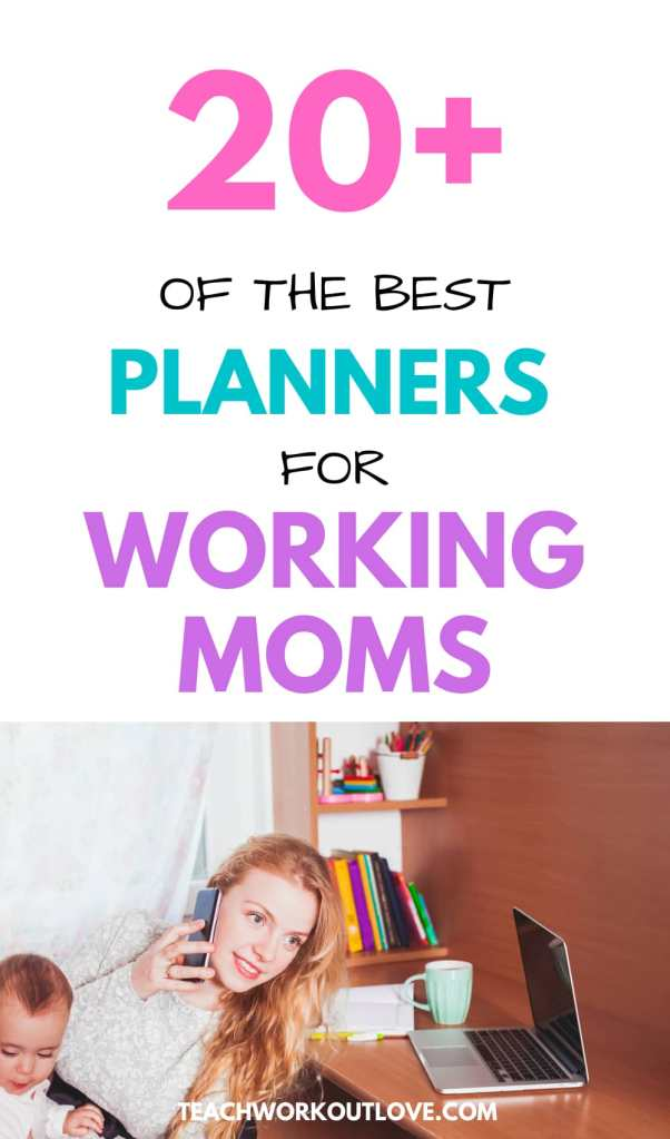 If you are looking for the best planners for working moms in 2020/21, I have 20+ great options for you here with prices and features.