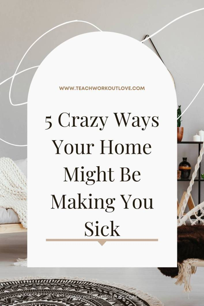 Even though we clean our homes often, there's certain things that we overlook. Here are some items in our home that might be making us sick.