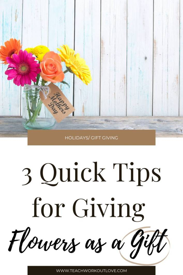 Flowers always attract people with their intricate designs, dazzling colors & smell. Here's a few quick tips on giving flowers as a gift.