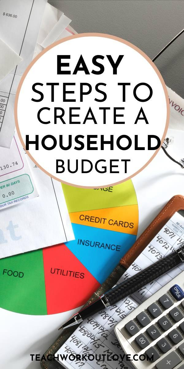 A household budget is essential because you don't want your outgoings to be higher than they need to be. Here's how to create an easy budget.