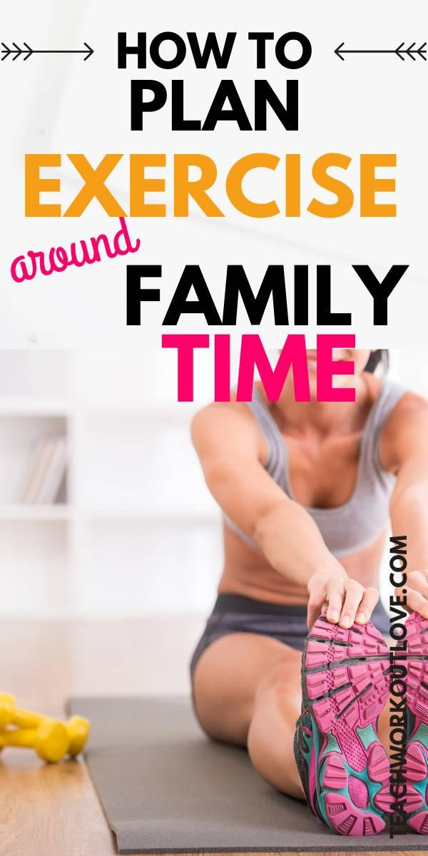 Are you struggling to find time to work out as a mom? Well don't worry, we have some ideas of how you can fit exercise into your family life!