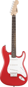 11 Up Electric Squier Bullet Strat HT Trans