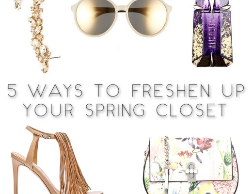 5 Ways to Freshen Up Your Spring Closet