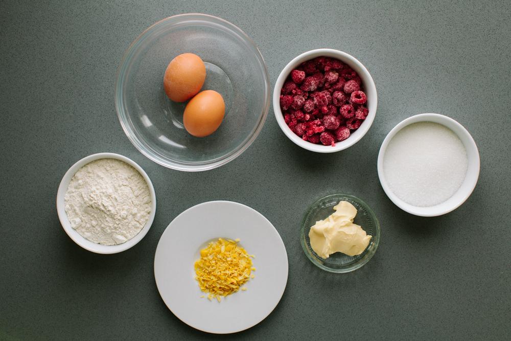 raspberry cake ingredients