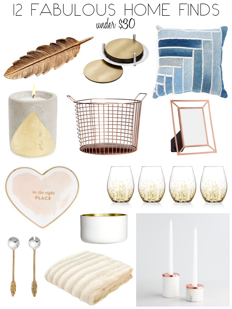 12 Fabulous Home Decor Finds You Won't Believe are Under $30
