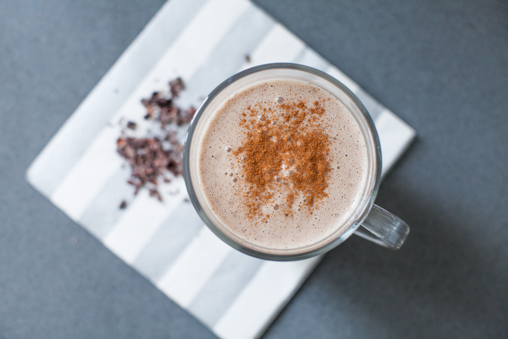 Healthy hot chocolate recipe