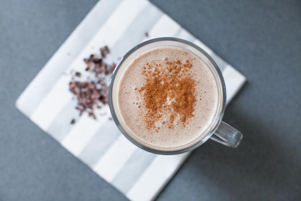 Healthy hot chocolate recipe