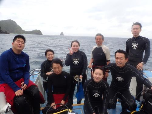 慶良間カメ保証体験ダイビング
