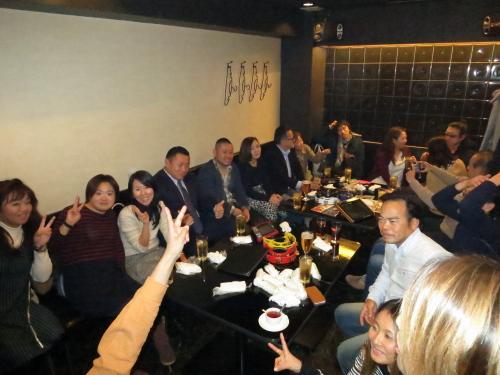 沖縄ダイビングティーダ東京新年会2次会様子