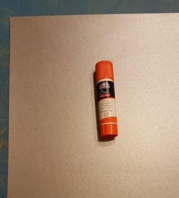 glue and paper