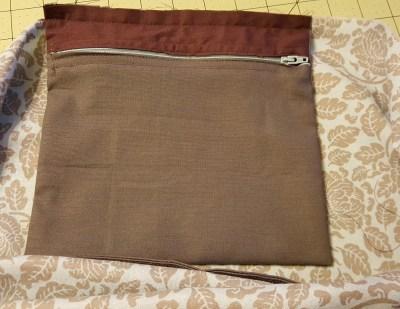 interior zip pocket