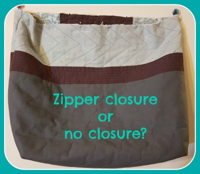 zipper or none