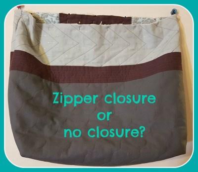 zipper or none