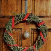 Rustic Charm Christmas Wreath