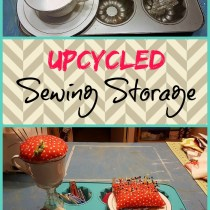 upcycled sewing storage