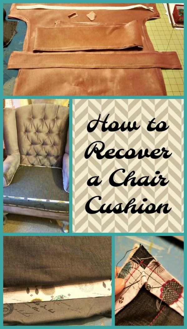 recover a chair cushion