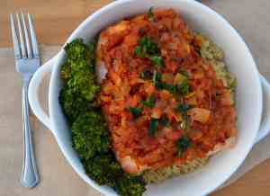 Spicy Baked Creole-Style Salmon