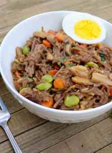 Stir-Fried Soba Noodles with Vegetables – Gluten Free