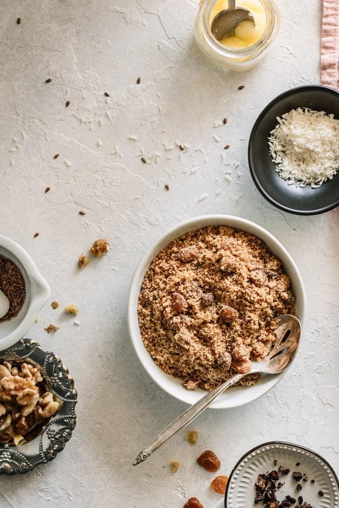 Panjeeri - Postpartum Healing and Lactation Recipe