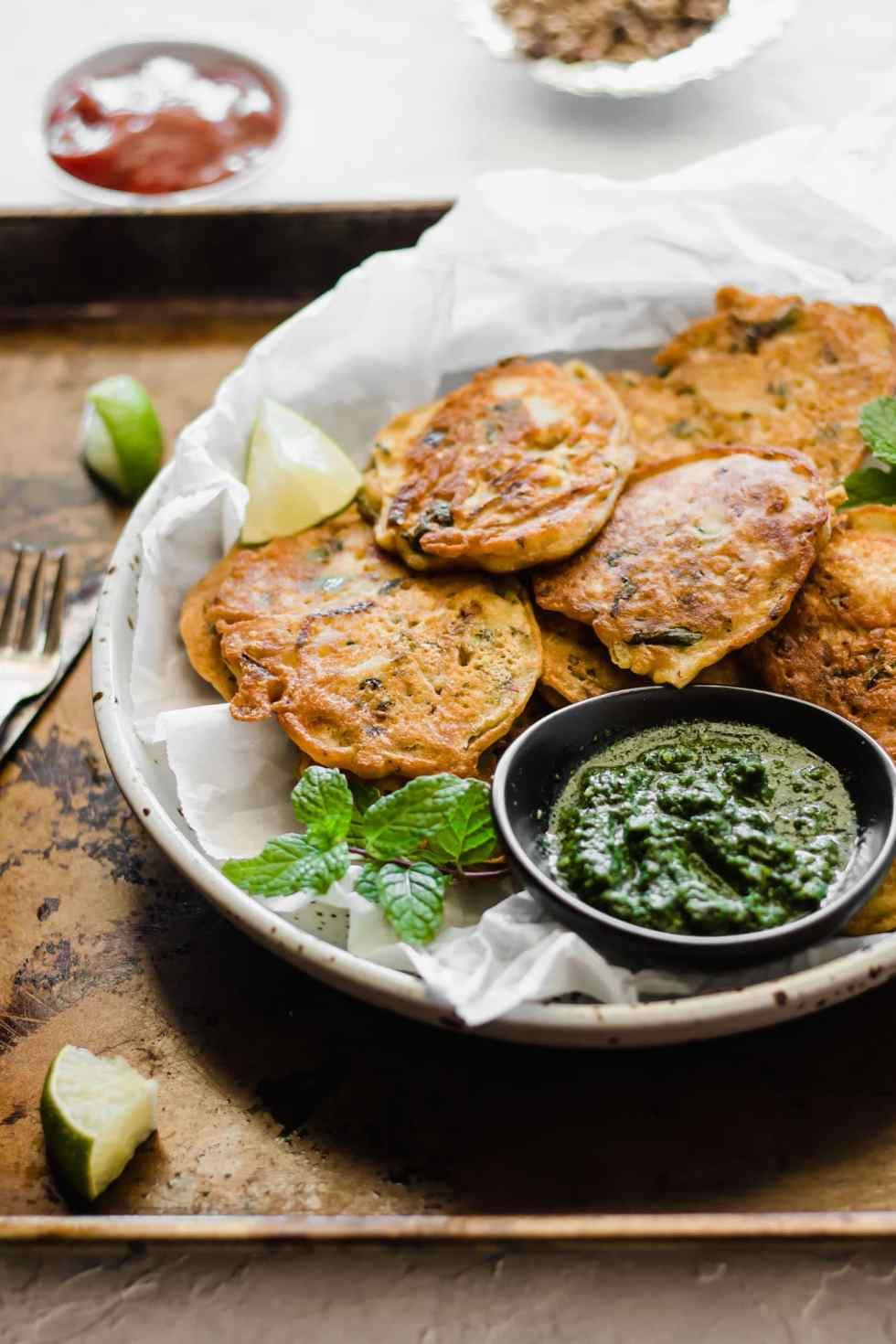 Healthier Pan-Fried Pakora