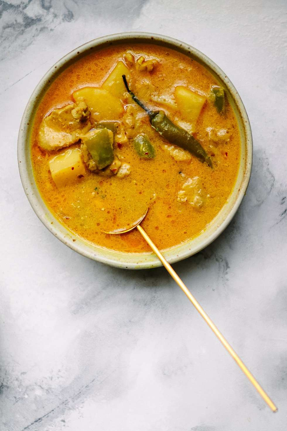 Coconut Chicken Curry with Potatoes