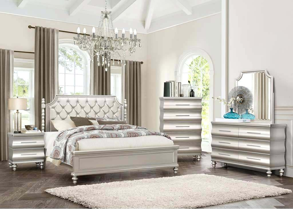 champagne and grey bedroom ideas