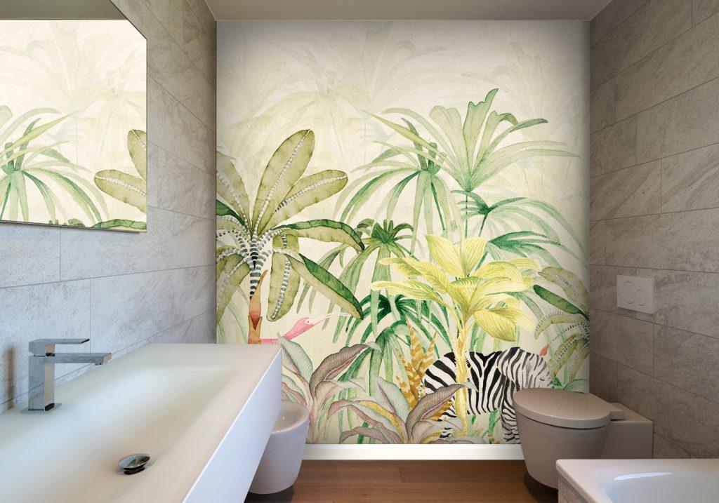 Siete in cerca di una bella carta da parati adesiva per decorare le pareti della vostra casa? Idee Carta Da Parati Bagno 1024x717 Wallpaper Teahub Io