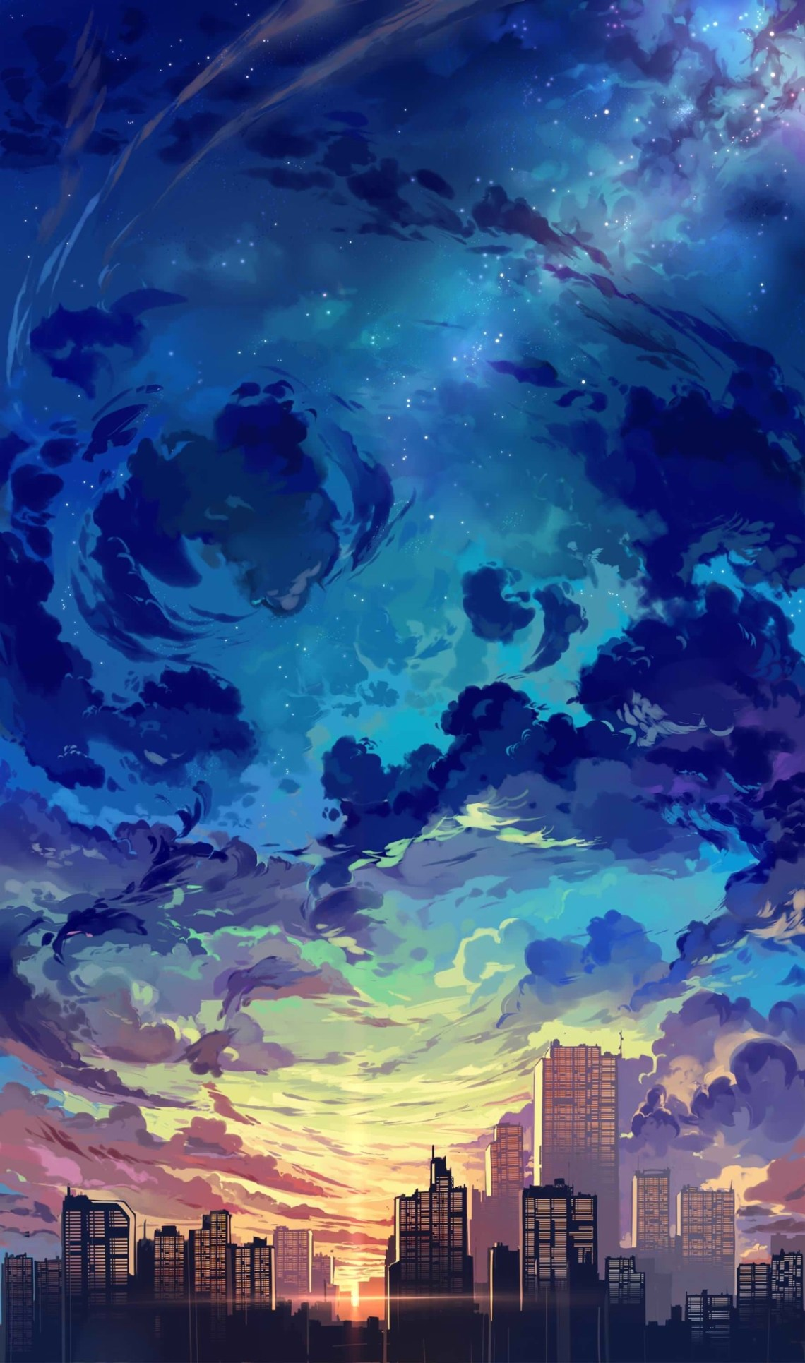 Beautiful Anime Wallpaper Phone 1209x2048 Wallpaper Teahub Io
