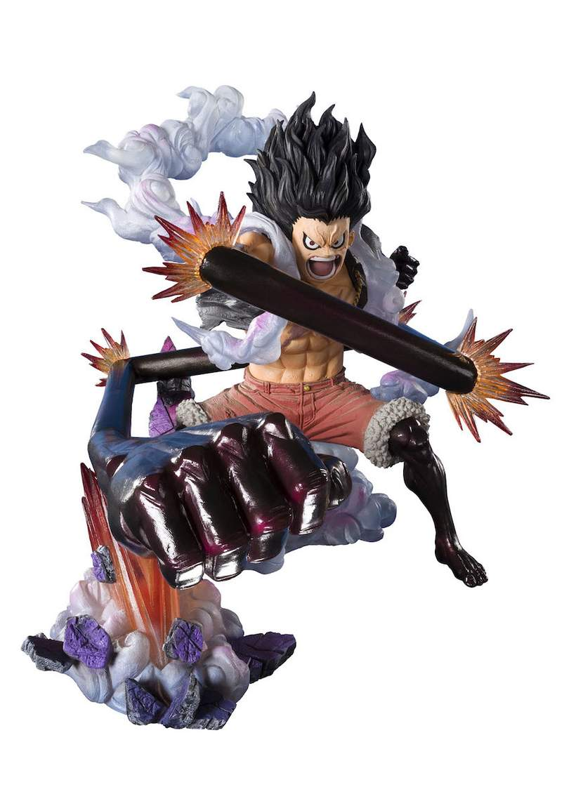 It is very popular to decorate the background of mac, windows, desktop or android device beautifully. Figuarts Zero One Piece Monkey D Luffy Gear 4 Snake Man Figure 820x1148 Wallpaper Teahub Io