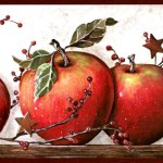 Country Apple Kitchen Border Apple Wallpaper Border 1200x630 Wallpaper Teahub Io