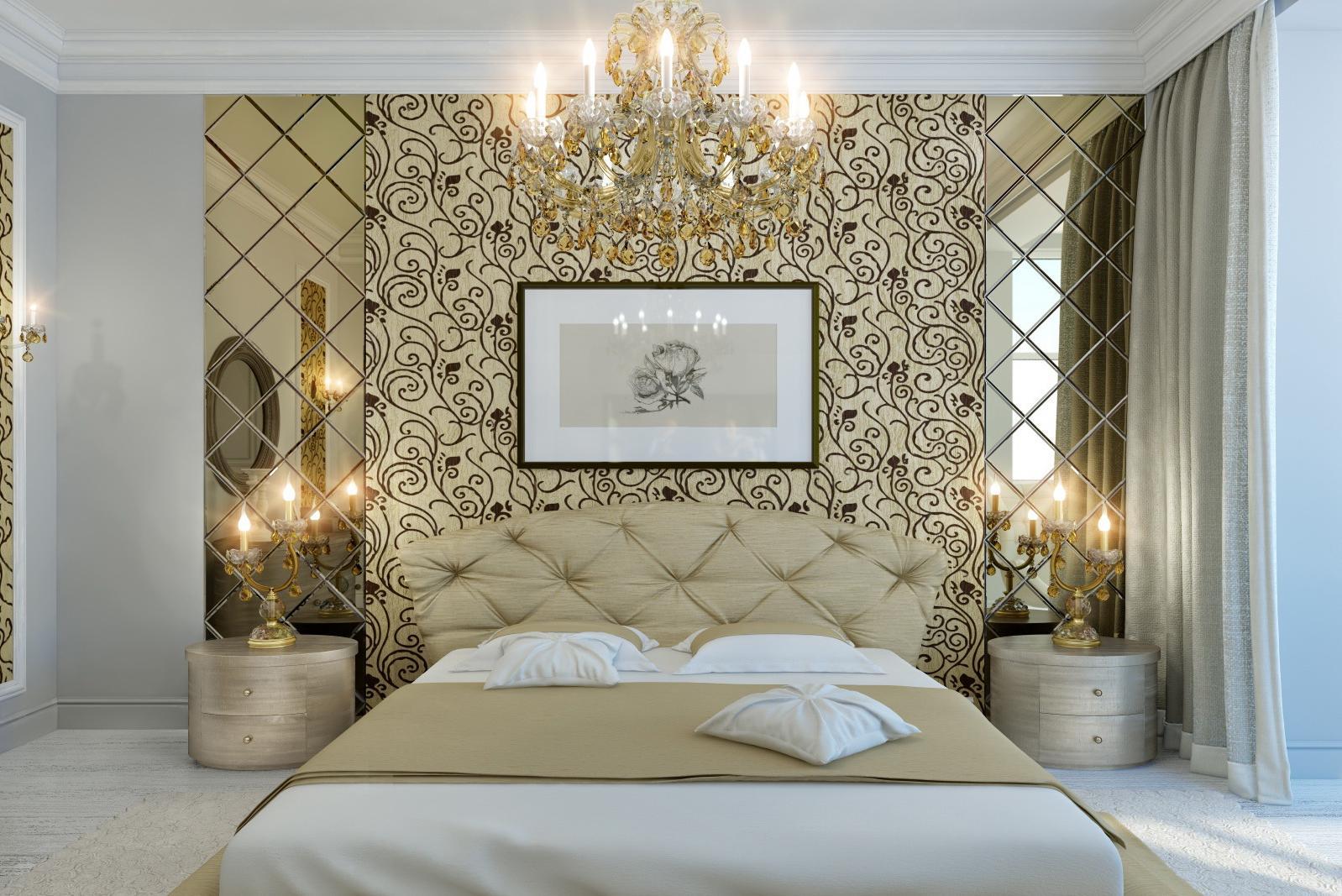 bedroom wall decor gold 1598x1067
