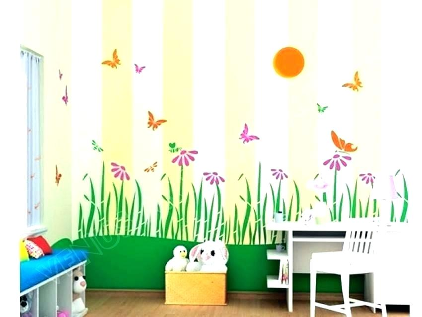Baby Room Wall Painting Ideas Bedroom Painting Ideas Kids Room Painting 850x638 Wallpaper Teahub Io