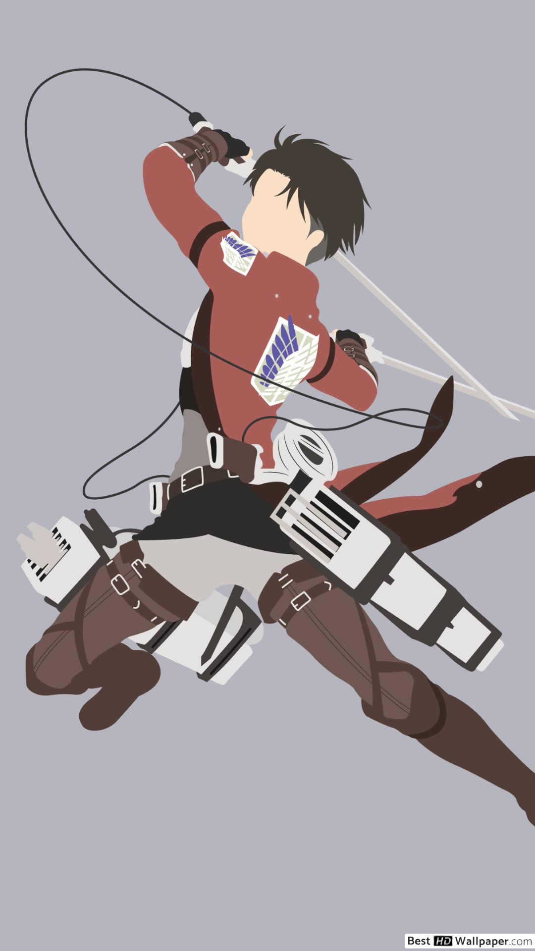 Check out these 13 fun facts. Attack On Titan Minimalist Wallpaper Iphone - 1080x1920 ...