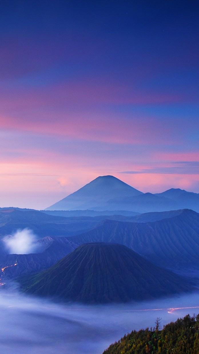 Mount Bromo Indonesia Mountain Bromo 1080x1920 Wallpaper Teahub Io