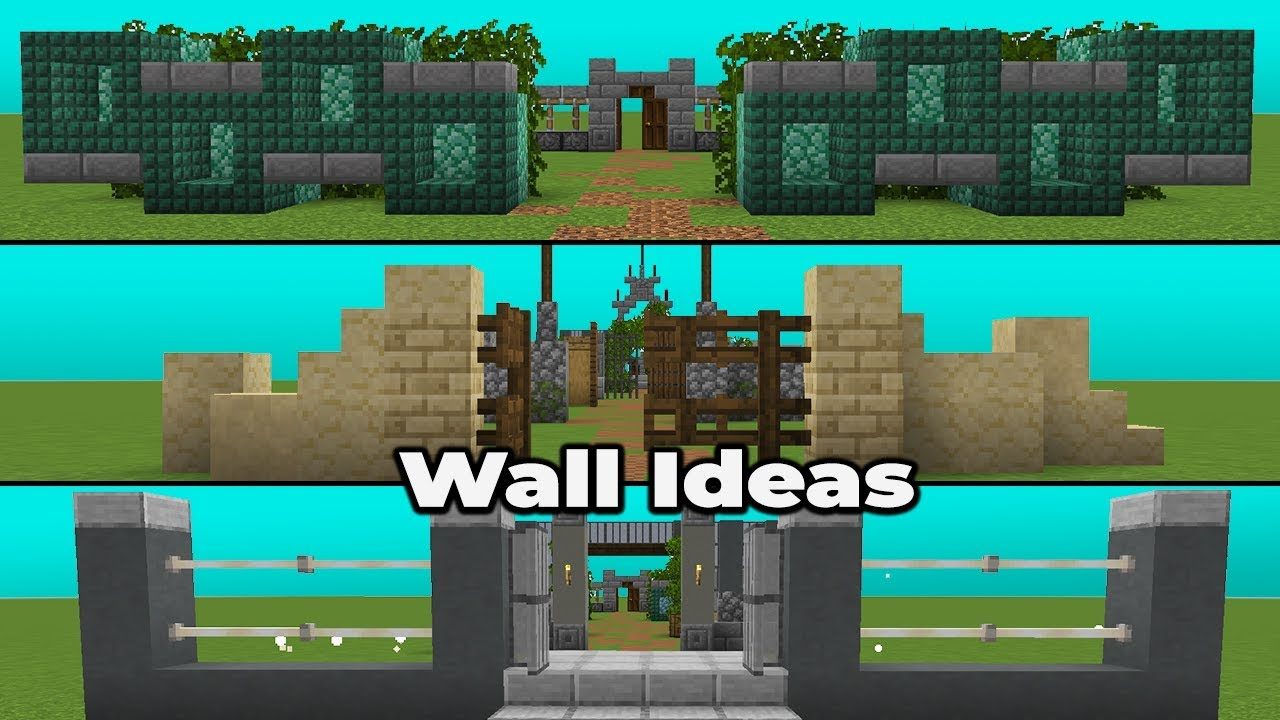 Simple Wall Design Minecraft - 13x13 Wallpaper - teahub.io