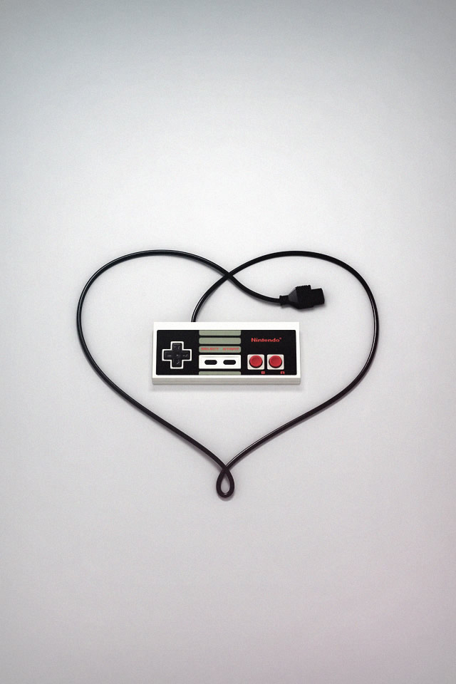 Super Creative Wallpapers Nes Controller Love 640x960 Wallpaper Teahub Io