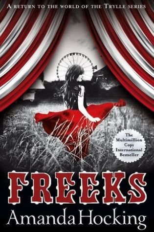 Blog Tour: Freeks, Amanda Hocking