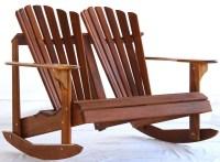 Teak Adirondack Rocking Chairs | Teak Adirondack Chair Central