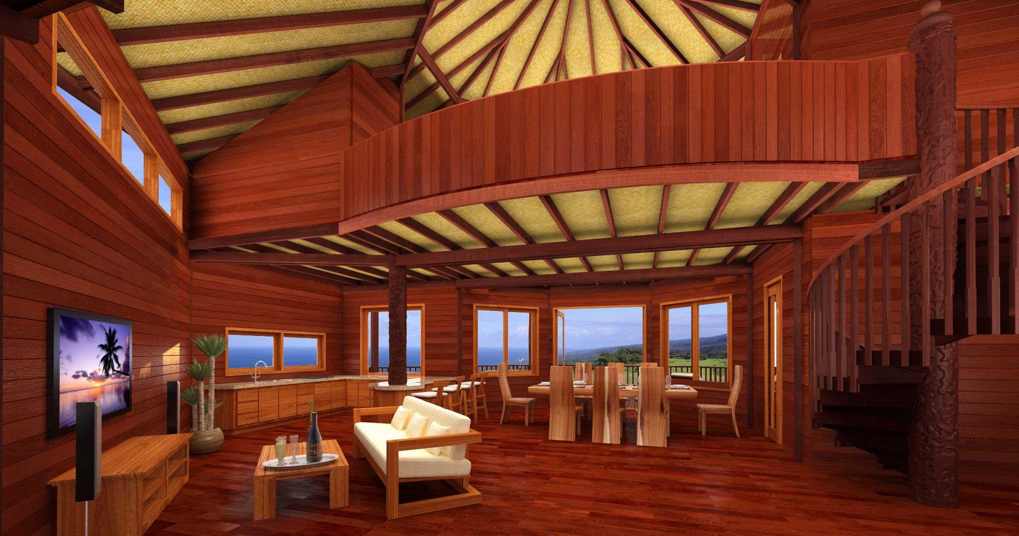 China Cat Design Caribbean Floor Plans Teak Bali