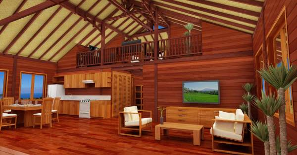 Yogashala Design - Hawaii Floor Plans Teak Bali