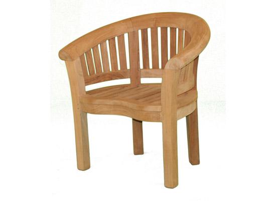 Half Moon Chair  Teak Boutique