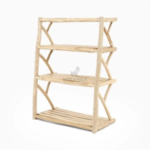 Duffin Shoes Rack Tampak Perspektif with watermark