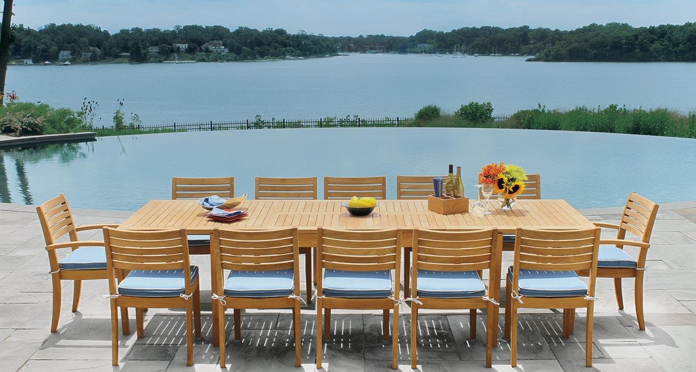 teak outdoor furniture in houston