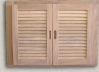 Teak Cabinet Doors